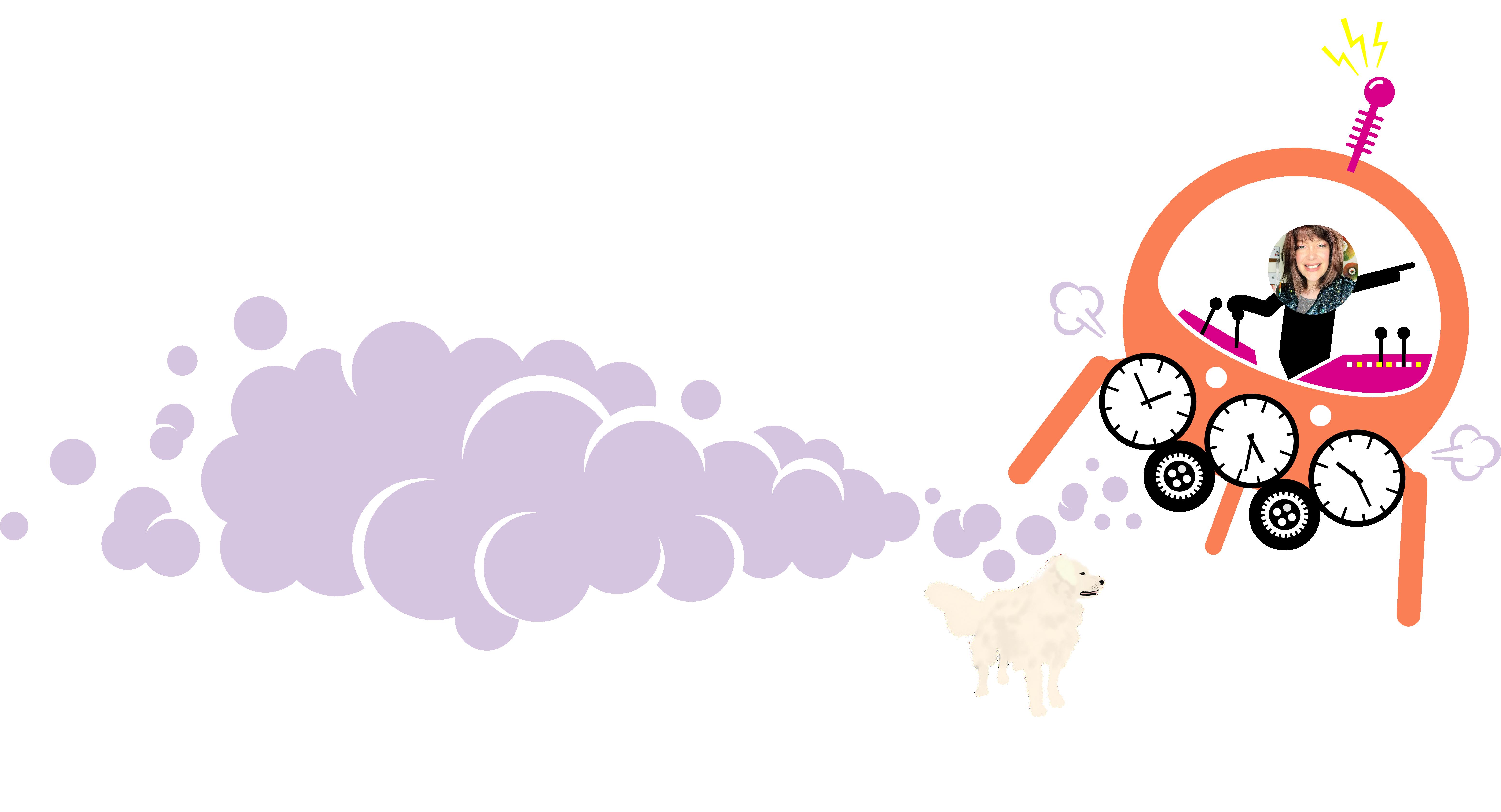 Alley Jean's Brand Time Machine Blog Banner
