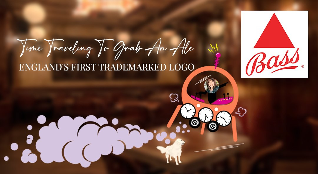 Time Traveling To Grab An Ale | England's First Trademarked Logo