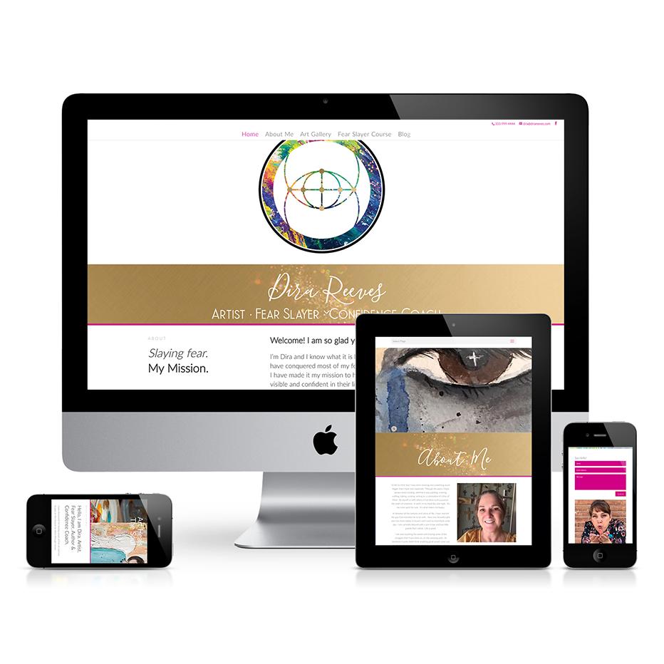 dira-reeves-Art-website-design