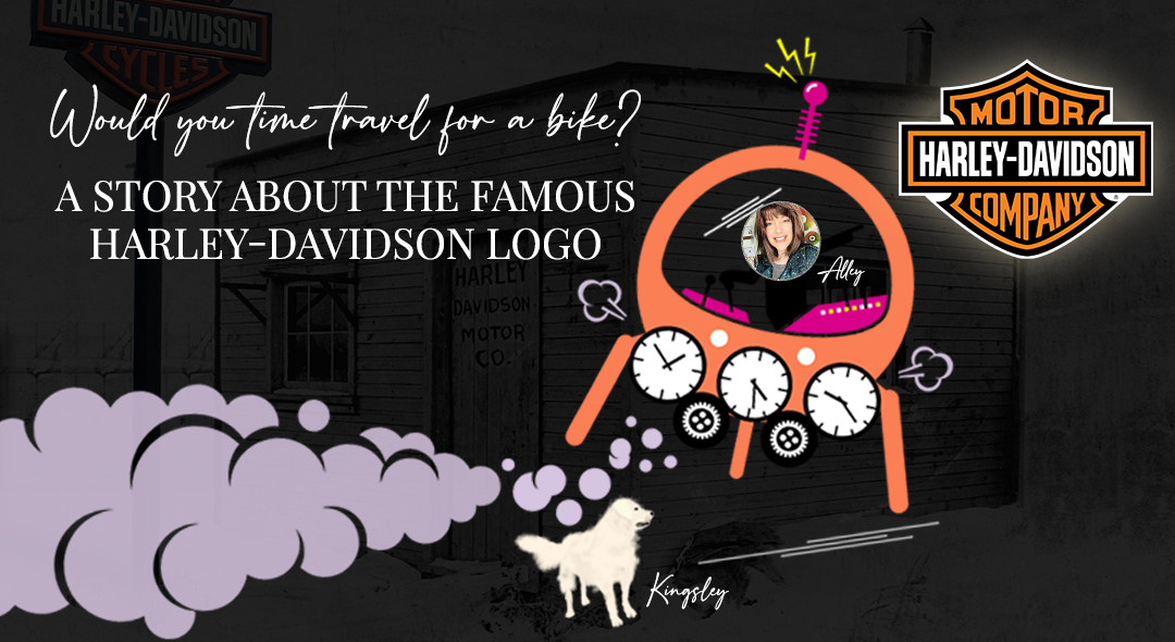Would You Time Travel For A Bike? A Story About The Famous Harley-Davidson Logo
